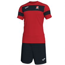 Ashgrove Rovers Seniors Joma Academy II S/S (Shirt/Shorts) Red/Black Youth 2020
